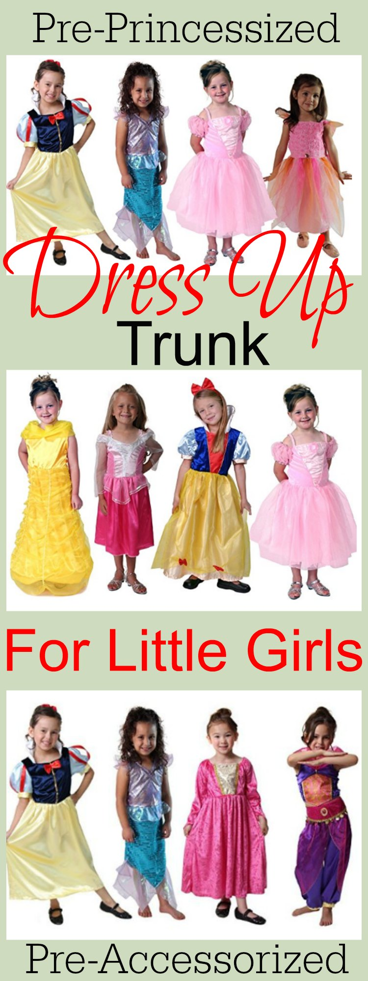 Little Girls Dress Up Chest