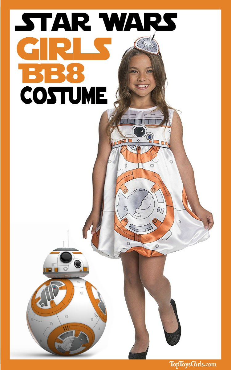 BB8 Costumes Girls