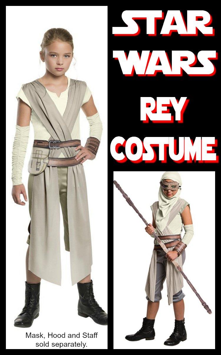Star Wars Rey Costume for Children
