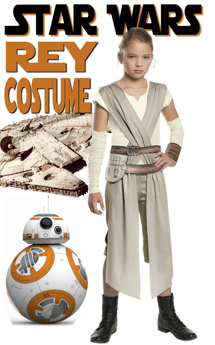 Star Wars Rey Costume for Kids
